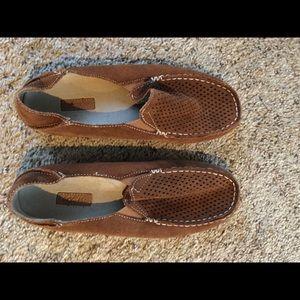Olukai suede Nohea slipon shoes size 7